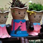 Mode für Pflanzen: DIY-Übertöpfe